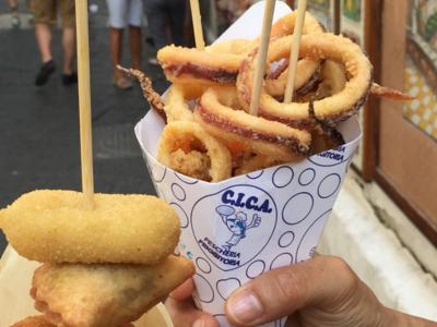 street food cica amalfi